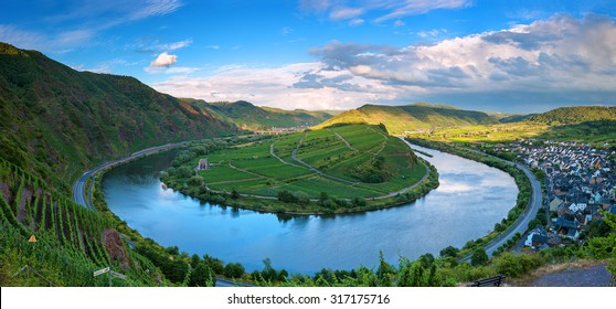 Moselle River Loop, Bremm, Germany