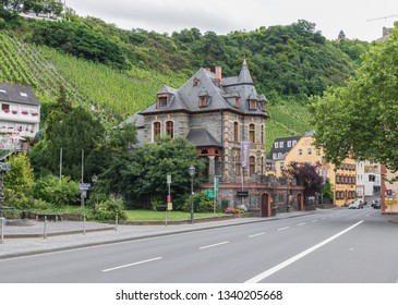 Moselle Valley, Germany - June 26th 2016 - famous for its wine production, the Moselle valley offers one of the most astonishing landscapes of Germany. Here in particular the section close to Trier