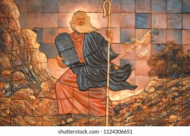 Moses was a prophet in the Abrahamic religions. According to the Hebrew Bible, he was adopted by an Egyptian princess, and later in life became the leader of the Israelites and lawgiver