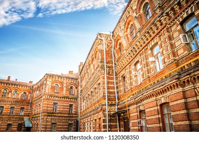 Moskow architecture and common life
