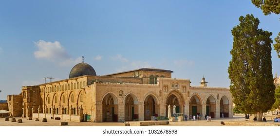 Mosque of Al Aqsa Jerusalem