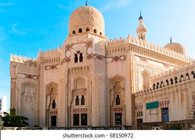 mosque in Alexandria, Egypt
