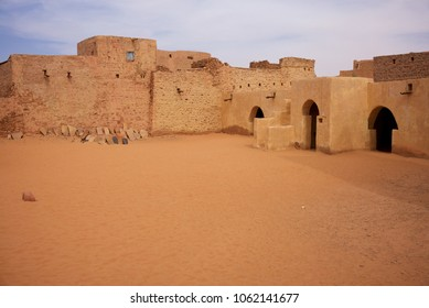 The mosque of Chinguetti, the seventh city of Islam, Mauritania, region of Adrar.