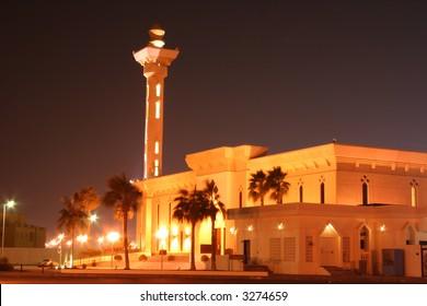 Mosque in Dammam, Saudi Arabia