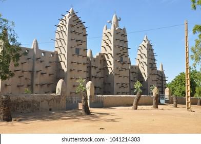 Mosque in Djenne, Mali