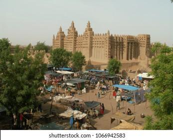 Mosque in Djenne, Mali, Africa