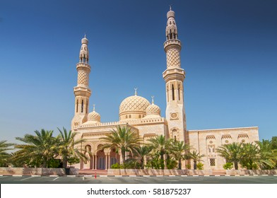 Mosque in Dubai, United Arab Emirates.