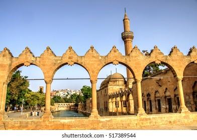 Mosque of Halil-ur-Rahman and Abraham's Pool, Urfa, Turkey
