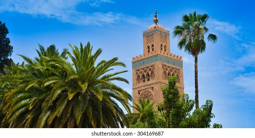 Mosque of Koutoubia in Marrakech, Morocco
