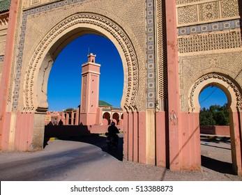 mosque and minaret, Rissani, Morocco