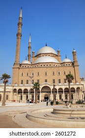 The Mosque of Mohamed Ali in the Citadel of Saladin in Old Cairo, Egypt