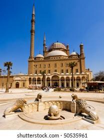 Mosque of Mohamed Ali, in Saladin Citadel, Cairo, Egypt