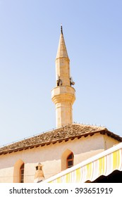 Mosque in Mostar, the cultural capital of Bosnia and Herzegovina.