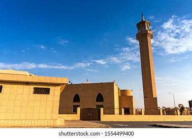 Mosque of the mother of Prince Saud bin Salman bin Mohammed in Ubud, Riyadh, Saudi Arabia
