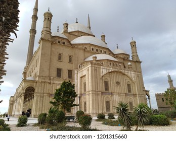Mosque of Muhammad Ali Pasha,  The beautiful islamic landmark in Cairo , at saladin Citadel ,Egypt