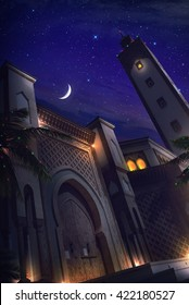 Mosque night