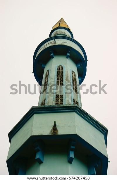 Mosque Pillar Tower