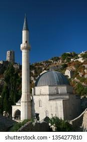 Mosque, Pocitelj, Bosnia and Herzegovina