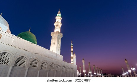 The mosque of the Prophet at MEDINA