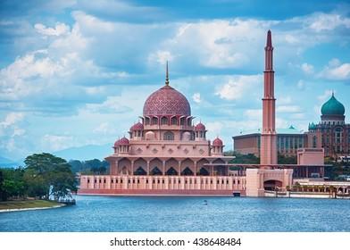 Mosque in Putrajaya