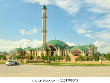 mosque in the republic of Chechnya