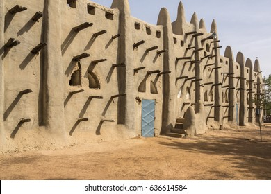 The Mosque in San, Mali, West Africa