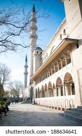 Mosque Suleymaniye in Istanbul