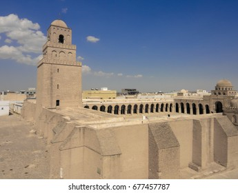 Mosque of Uqba in Kairouan town in Tunisia. Northern Africa