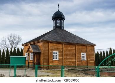 Mosque in the village of Bohoniki, Podlasie, Poland