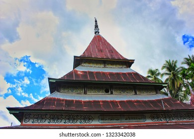 Mosque in a village in the Minang area