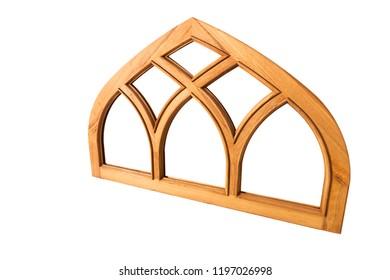Mosque window. Iranian art called Girih