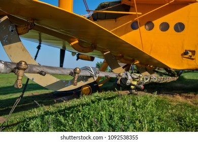 a mosquito dusting plane