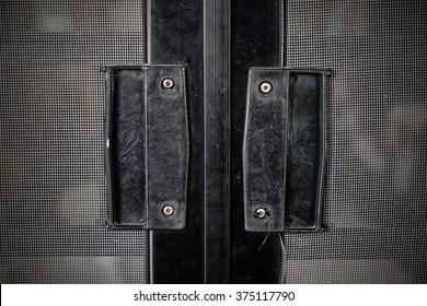 mosquito wire screen door handle