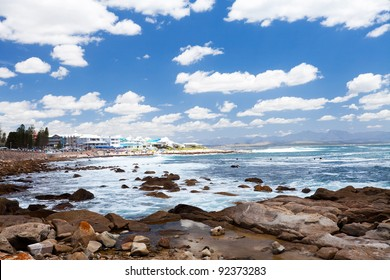 mossel bay beach, western cape, south africa