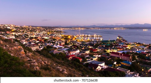 Mossel Bay town sunrise colourful