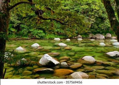 Mossman River, Daintree National Park, Queensland, Australia