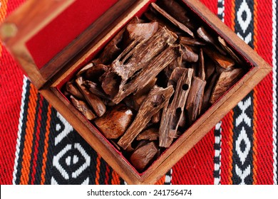 In most Arab countries bukhoor is the name given to scented bricks or wood chips. These scented chips or bricks are burned in incense burners to perfume the home and clothing with a rich thick smoke