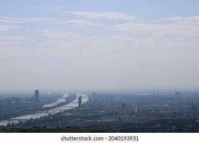 most beauiful view on vienna cityscape