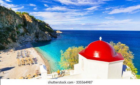 most beautiful beaches of Greece. Karpathos island. Kyra panagia