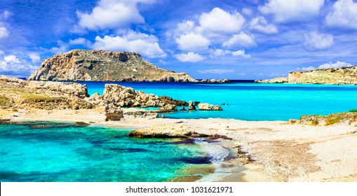 most beautiful beaches of Greece - Lefkos, in Karpathos island