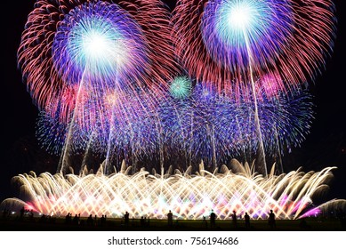Most Beautiful Fireworks Festival in Japan