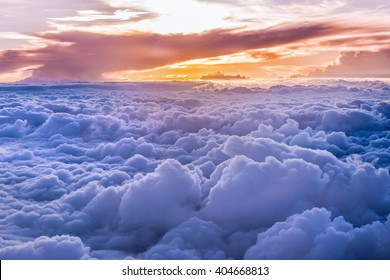 Most beautiful Heaven Grand of clouds and skyscape.