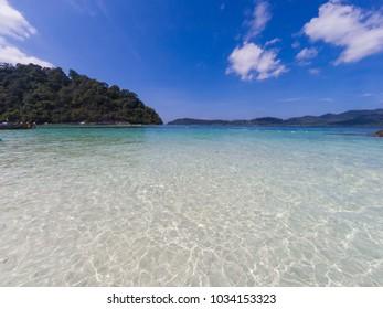 The most beautiful in life, Andaman sea Koh Lipe , Satun province, Thailand