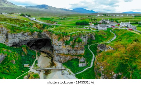 Most beautiful places in Scotland - the Smoo Cave in the highlands