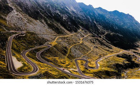 Most beautiful road in the world - Transfagarasean