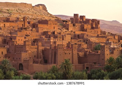 The most beautiful tourist places Castles Ben Haddou Ouarzazate Morocco