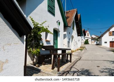 most beautiful wine route at Galgenberg in Weinviertel, Austria