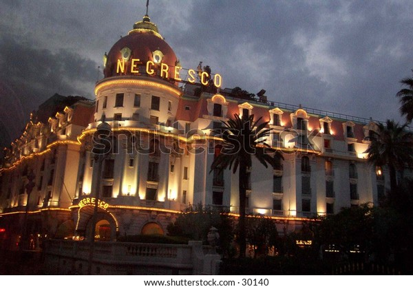 The most beaytiful hotel in Nice. Here the famous people stay while in Nice