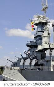 Most Decorated Battleship - USS North Carolina