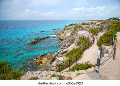 The most eastern point of Mexico on Isla Mujeres, Mexico.